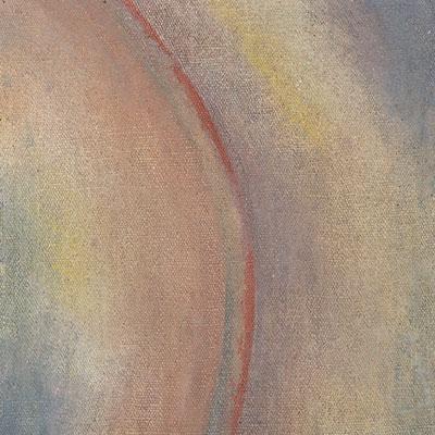 Goin' Ahead · Acrylic and tempera on canvas · 31 x 31 cm